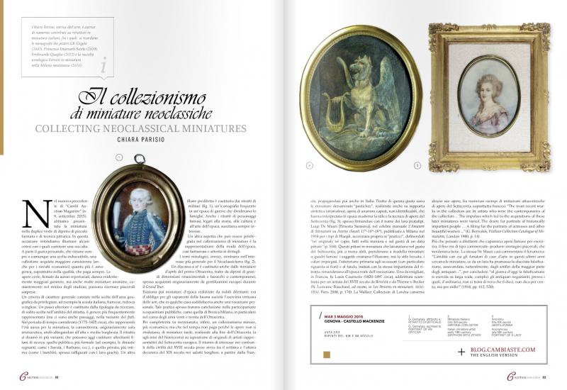 """""""Il collezionismo di miniature neoclassiche"""""""